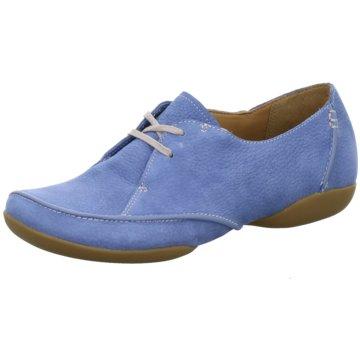 Clarks Komfort SchnürschuhFelicia Vale blau