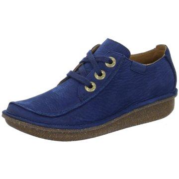 Clarks Komfort SchnürschuhFunny Dream blau