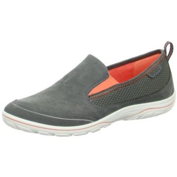 Ecco Sportlicher Slipper grau