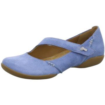 Clarks Komfort SlipperFelicia Plum blau