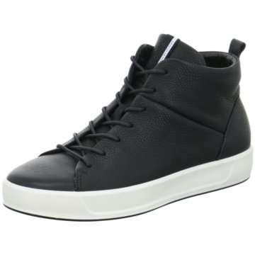 Ecco Sneaker HighSoft 8 Ladies schwarz