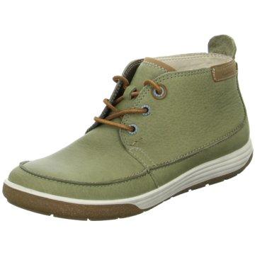Ecco Komfort Stiefelette grün
