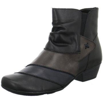 Remonte Komfort Stiefelette schwarz