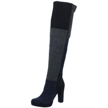 Tamaris Overknee Stiefel blau