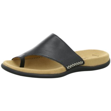 Gabor Komfort Pantolette schwarz