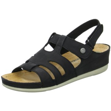 Dr. Brinkmann Komfort Sandale schwarz