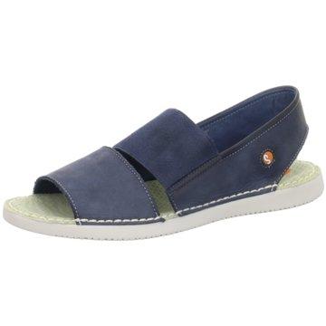 Softinos Komfort Sandale blau