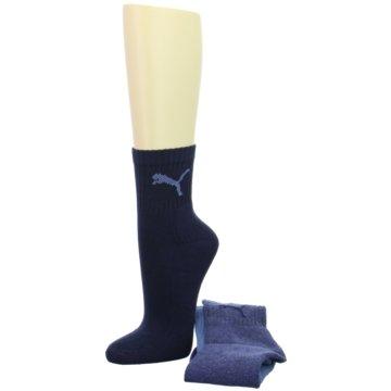Puma Socken / StrümpfeShort Crew Socks 3-PACK blau