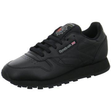 Reebok Sneaker LowClassic Leather Damen Sneaker schwarz schwarz