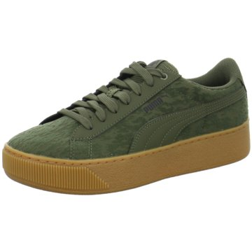 Puma Plateau Sneaker grün