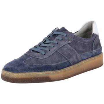 Sioux Sneaker Low blau