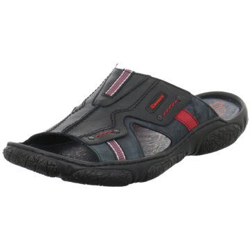 KRISBUT Komfort Sandale schwarz