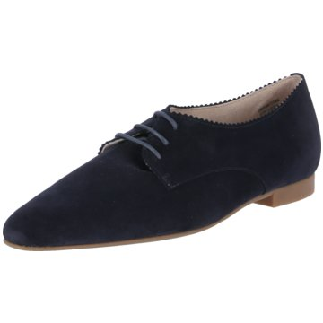 Paul Green Klassischer Schnürschuh blau