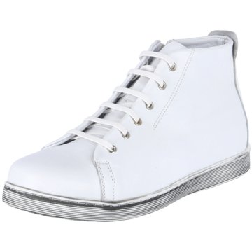 Andrea Conti Sportlicher Schnürschuh weiß