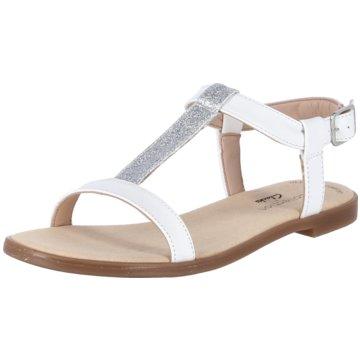 Clarks Sandale weiß