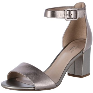 Clarks Party silber