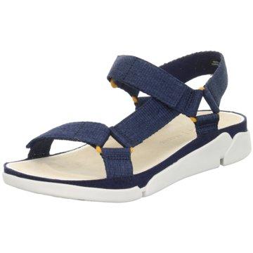 Clarks Komfort SandaleTri Sporty blau