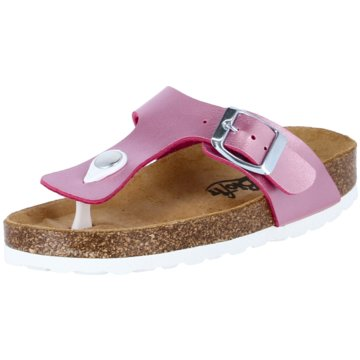 Biofit Offene Schuhe rosa