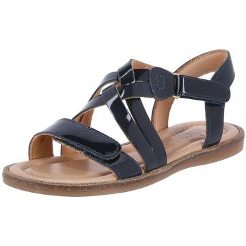 Bisgaard Offene Schuhe schwarz