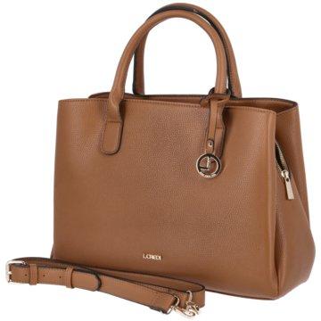 L.Credi Taschen Damen braun