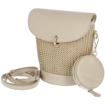 SEIDENFELT Rucksack beige
