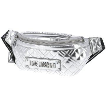 Love Moschino Taschen Damen silber