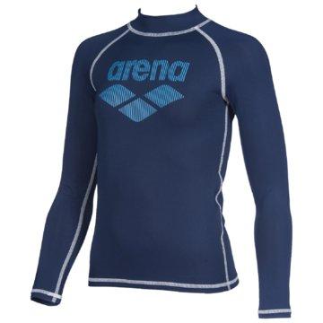 arena LangarmshirtB RASH VEST L/S - 003146 blau