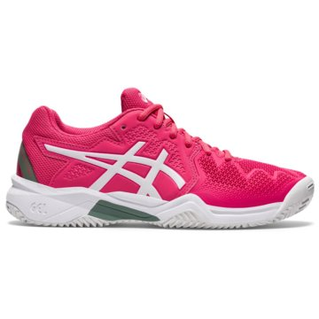 asics OutdoorGEL-RESOLUTION  8 CLAY GS  - 1044A019-702 pink