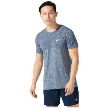 asics T-ShirtsRACE SEAMLESS SS - 2011A784-405 blau