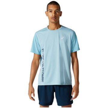 asics T-ShirtsSMSB RUN SS TOP - 2011B872-400 blau