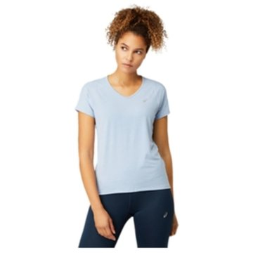 asics T-ShirtsV-NECK SS TOP - 2012A981 blau