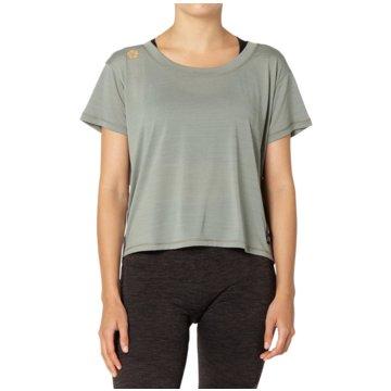 asics T-ShirtsSAKURA SS CROP TOP - 2012B945-020 grau