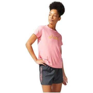 asics T-ShirtsSAKURA ASICS SS TOP - 2012B947-701 rosa