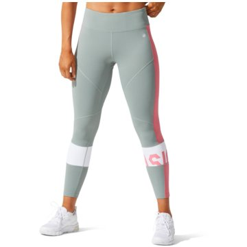 asics TightsCOLOR BLOCK CROPPED TIGHT 2 - 2032A410-020 grau