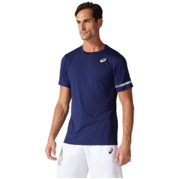 asics T-ShirtsCOURT M SS TEE - 2041A136-400 blau