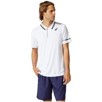 asics T-ShirtsCOURT M POLO SHIRT - 2041A138-100 weiß