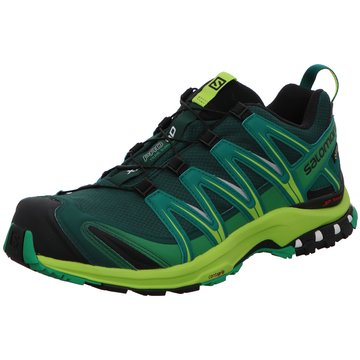 Salomon Trailrunning grün