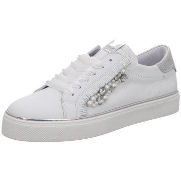 Alpe Woman Shoes Sneaker Low weiß
