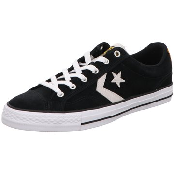 Converse Sneaker LowSTAR PLAYER OX BLACK/WHITE schwarz
