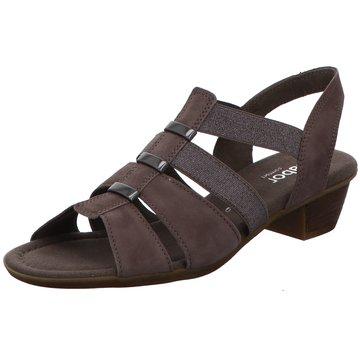 Gabor comfort Komfort Sandale grau
