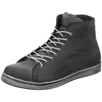 Andrea Conti Sneaker High grau