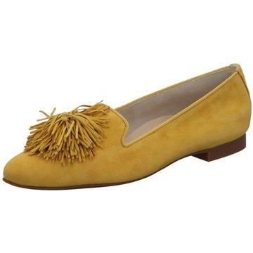 Paul Green Klassischer Slipper gelb