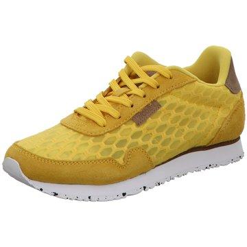 Woden Sneaker LowNora II Mesh gelb
