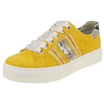 Semler Sneaker Low gelb