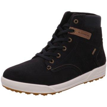LOWA Sneaker High blau