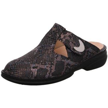 FinnComfort Komfort Pantolette2555 Belem 498218 grau