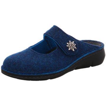FinnComfort Hausschuh blau