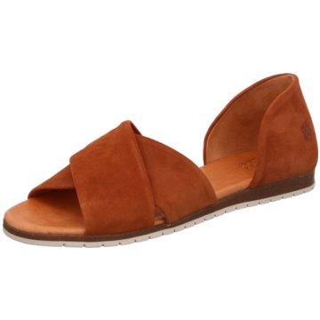 Apple of Eden Top Trends Sandaletten braun