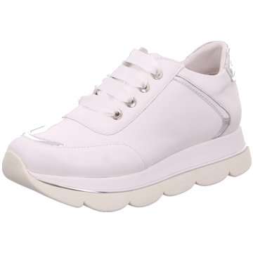 CAFèNOIR Plateau Sneaker weiß