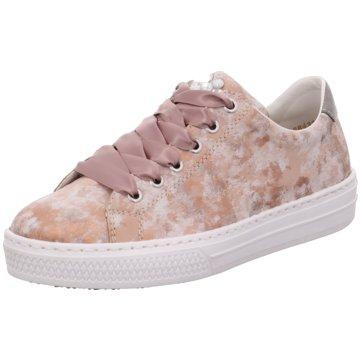 Rieker Sneaker Low rosa